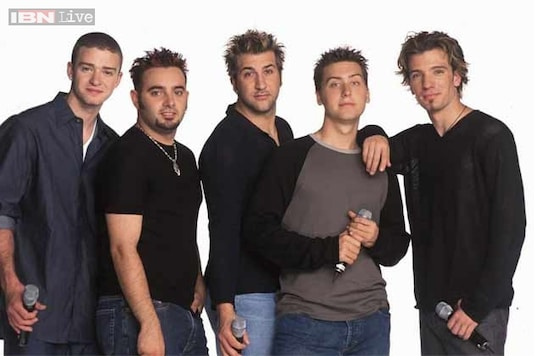 N'Sync member reunite for band mate Kirkpatrick's wedding