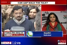 People extend support as AAP forms government in Delhi