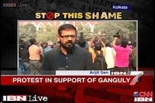 Kolkata lawyers march in support of Ganguly