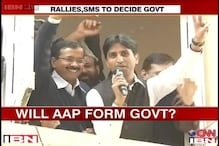 AAP to form government in Delhi with Congress support?