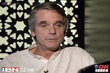 Jeremy Irons talks about his journey as actor and a philanthropist