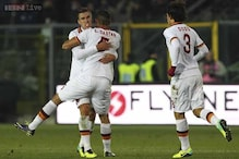 Late goal earns 1-1 draw for Roma; Balotelli fires AC Milan to 3-1 win