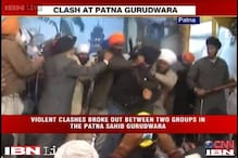 Watch: Two Sikh groups attack each other with swords in gurudwara in Patna