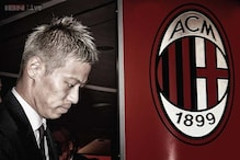 Honda presented as AC Milan's newest player