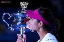 Li Na wins the Australian Open 2014 women's singles title