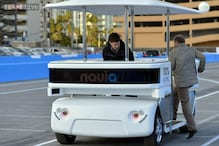 First driverless vehicle to be commercially available demoed at CES 2014