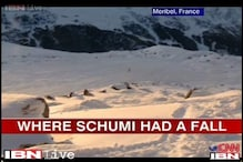 Ski run that ended in disaster for Michael Schumacher