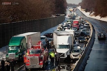 Pennsylvania: 100 vehicles pile up in road mishap, 30 injured