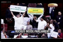Telangana battle in Parliament turns ugly; MPs clash, use pepper spray