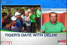It was a great feeling to play alongside Tiger Woods: Shiv Kapur
