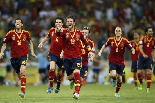 Champions Spain have comfortable draw for Euro 2016