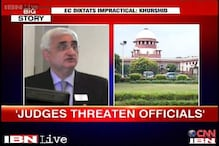 Khurshid defends his remark on SC, says reforms are needed