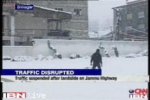 Fresh snowfall reported in J&K, traffic suspended on Jammu highway
