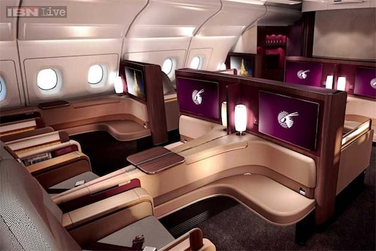 This is what first-class seats on Qatar Airways' new A380 jet look like