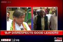 I admire Jaswant Singh, says Shashi Tharoor