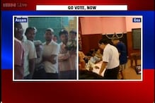 Watch: Goa CM casts his vote in the early hours, polling on in Assam