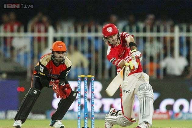 Glenn Maxwell bats Punjab to third straight victory in IPL 7