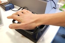 A new device that lets you make payments by swiping your hand