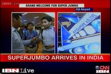 Watch: Delhi passengers cheer the first A380 flight in India