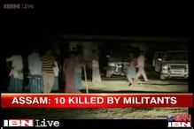 Assam: Suspected Bodo militants kill 10 people in 2 separate incidents