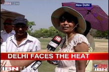 Delhi heat: Students complain, policemen find ways to deal with it