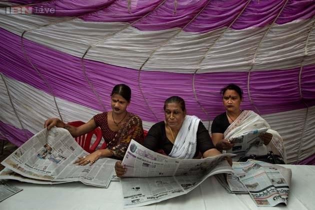 Photos: Meet 'Hijra Guru' Baseer Kinnar, the 55-year-old transgender