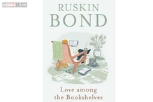 'Love among the bookshelves' is about Ruskin Bond's tryst with books