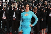 Indian actors Mallika Sherawat and Uday Chopra spotted on the Cannes red carpet at the premiere of 'Grace Of Monaco'