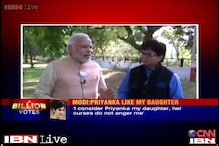 Narendra Modi's office releases 'omitted' daughter remark on Priyanka