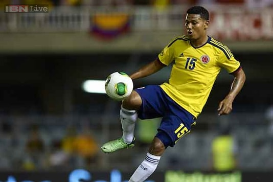 Edwin Valencia dropped from Colombia World Cup squad