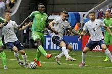 In Pics: France vs Nigeria, Round of 16