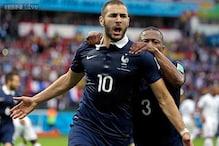 World Cup 2014: Karim Benzema brace helps France cruise past Honduras