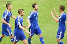 World Cup 2014: Bosnia beat Iran 3-1, both knocked out