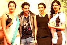 Kareena, Karisma and the Kapoor family cheer Armaan Jain at the music launch of 'Lekar Hum Deewana Dil'