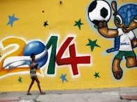 In pics: Stunning photos of Brazil's World Cup street art