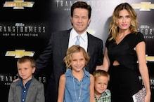 Mark Wahlberg brings kids, wife to 'Transformers' premiere