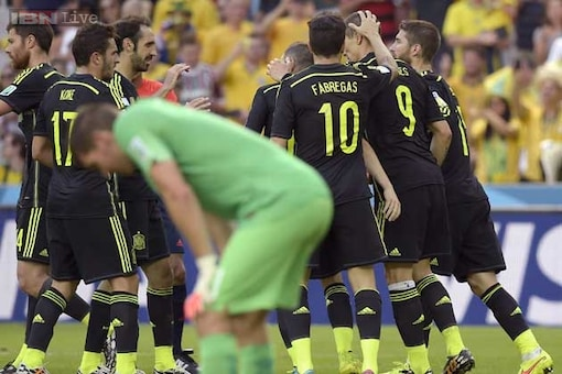 World Cup 2014: Spain sign off in style with a 3-0 win over Australia