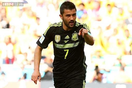 World Cup 2014: David Villa marks final Spain cap with a goal