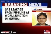 Mumbai: Gas leak in Mahanagar Gas Limited's underground pipeline at Worli