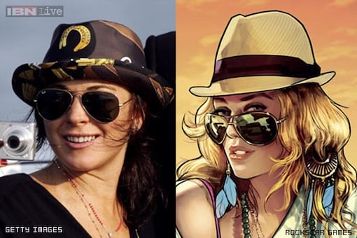Lindsay Lohan sues 'Grand Theft Auto V' makers over Lacey Jonas character
