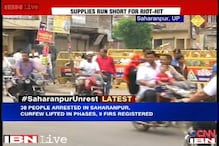 Situation improves in Saharanpur, curfew lifted for 4 hours in old town area