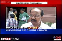 Discussion on euthanasia extremely essential, says Veerappa Moily