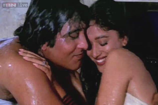 Kissing Scenes Of Madhuri Dixit