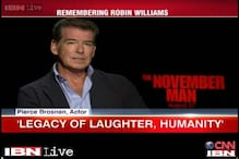 Robin William's legacy will remain forever: Pierce Brosnan