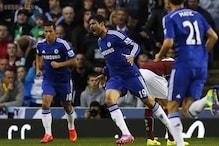 Chelsea striker Costa doubtful for Everton trip
