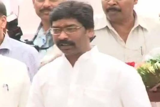 Jharkhand: Another central minister shown black flags by JMM