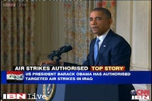 Obama authorises air strikes in Iraq but says won't drag US into war