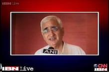 Unfortunate that a senior leader like Natwar is stooping so low: Salman Khurshid
