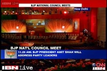 Heavy security arrangements ahead of BJP's National Council meet