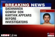 Rape-cheating case: Rail Minister's son Karthik Gowda appears before investigating officer